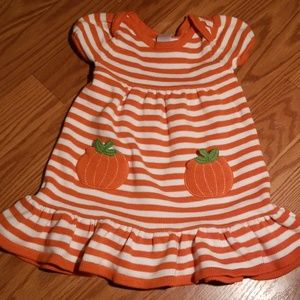 Gymboree pumpkin sweater dress 2t